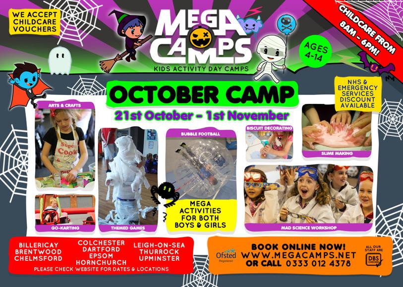Mega camps october flyer 2019 front